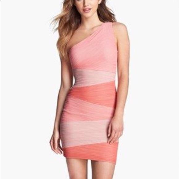 4b3f6ae427 BCBG Dresses & Skirts - BCBG Kira One Shoulder Mini Bodycon Dress